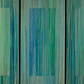 Emily Page - Drippings Triptych