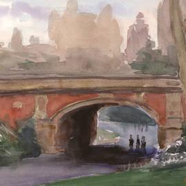 Walter Lynn Mosley - Driprock Arch in Spring 2015