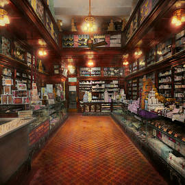 Mike Savad - Drugstore - G.W. Armstrong drug store 1913