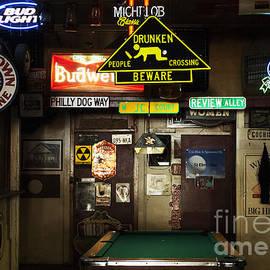 Bob Christopher - Drunken People Crossing Sign Pool Room 1