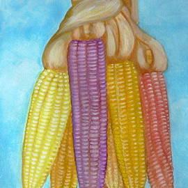 Anna Folkartanna Maciejewska-Dyba  - Drying Ears of Corn
