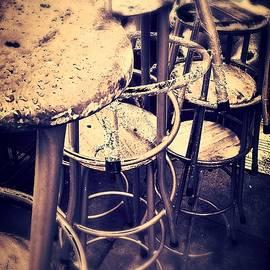 Maggie Doyle - Dublin City Vintage Bar stools.
