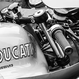 Ducati Desmo Motorcycle -2127bw - Jill Reger