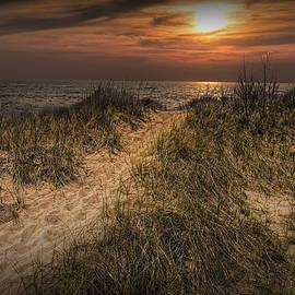 Randall Nyhof - Dune Path at Sunset