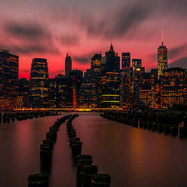 Riddhish Chakraborty - Dusk Manhattan