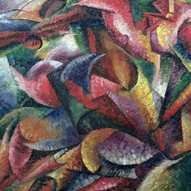 Dynamism of the Body - Umberto Boccioni