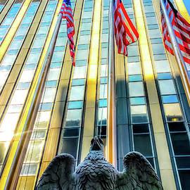 Srinivasan Venkatarajan - Eagle Statue outside Madison Square Garden in New York