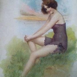 Sherri  Of Palm Springs - Early Century 1900 1910 by Sherriofpalmsprings