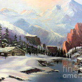 Lee Piper - Early Morning In The Rocky Mountains