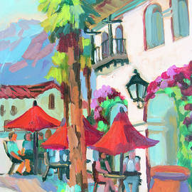 Early Morning Coffee in Old Town La Quinta 2 - Diane McClary