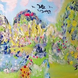 Judith Desrosiers - Early morning garden