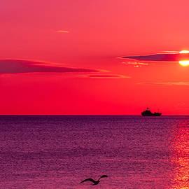 Serhii Simonov - Early morning on the sea