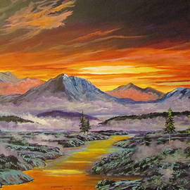 Dave Farrow - Early Winter Sunset