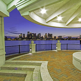 Juergen Roth - East Boston Piers Park View of Boston