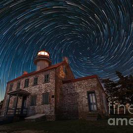 Michael Ver Sprill - East Point Light Vortex Star Trails
