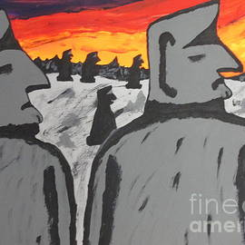 Jeffrey Koss - Easter Island Sunrise