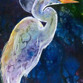 Sherry Shipley - Egret Moon