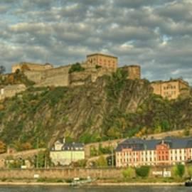 Constance Puttkemery - Ehrenbreitstein Fortress Viewed From Koblenz