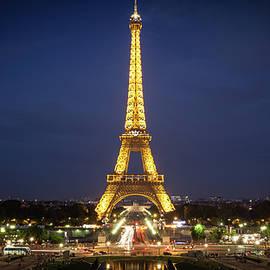 Peter Handy - Eiffel Tower at Dusk