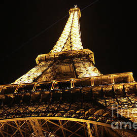 Eiffel Tower At Night - MGL Meiklejohn Graphics Licensing
