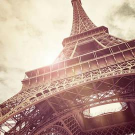 Jane Rix - Eiffel Tower in sunlight