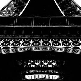 Eiffel Tower Paris Graphic Phone Case - Edward Fielding