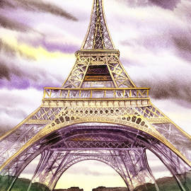 Irina Sztukowski - Eiffel Tower Summer In Paris