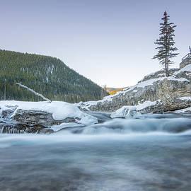 Yves Gagnon - Elbow Falls, Kananaskis Country, Alberta, Canada