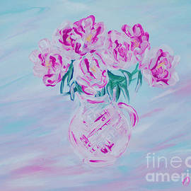 Oksana Semenchenko - Elegant Bouquet of Peonies. Joyful Gift. Thank You Collection