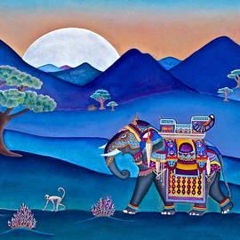 Lori Miller - Elephant and Monkey Stroll