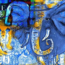Kari Nanstad - Elephant Collage