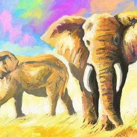 Anthony Mwangi - Elephants