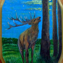 Anna Folkartanna Maciejewska-Dyba  - Elk and the Moon