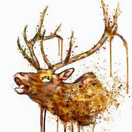 Marian Voicu - Elk in watercolor