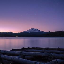 Clint Melsha - Elk Lake at Dusk