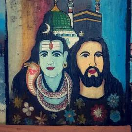 Athin Alias - Ellam Onna!  #streetart #fortkochi