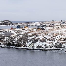 Crystal Fudge - Elliston in Winter, Newfoundland