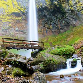 Jeff Swan - Elowah Falls and the bridge