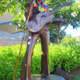 Mary Deal - Elvis in the Garden