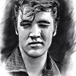 Scott Wallace - Elvis Presley Sketch