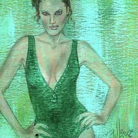 P J Lewis - Emerald Greem