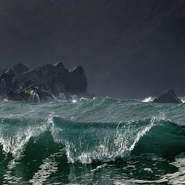 Barbara Walsh - Emerald Wave at Clogher