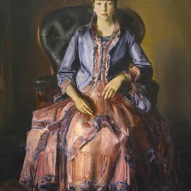 Emma in a Purple Dress - George Bellows