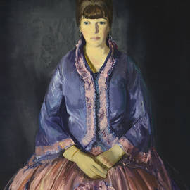 Emma in the Purple Dress - George Bellows