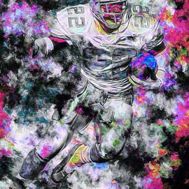 David Haskett - Emmitt Smith Dallas Cowboys Painting Digital 13