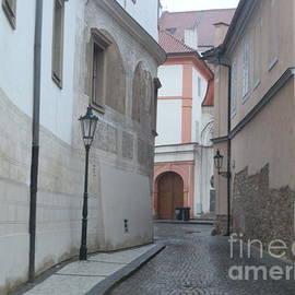 Margaret Brooks - Empty street in Prague