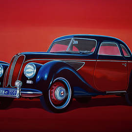 EMW BMW Painting - Paul Meijering