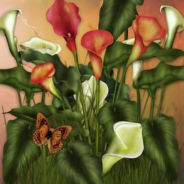 Georgiana Romanovna - Enchanted Calla Lilies