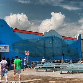 Allen Beatty - Endangered Blue Whales Mural 2