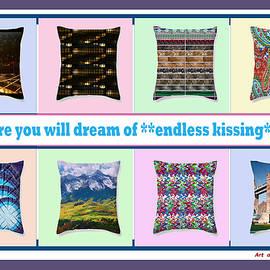 Navin Joshi - Endless Kissing  Pillow Talk art by NavinJoshi
